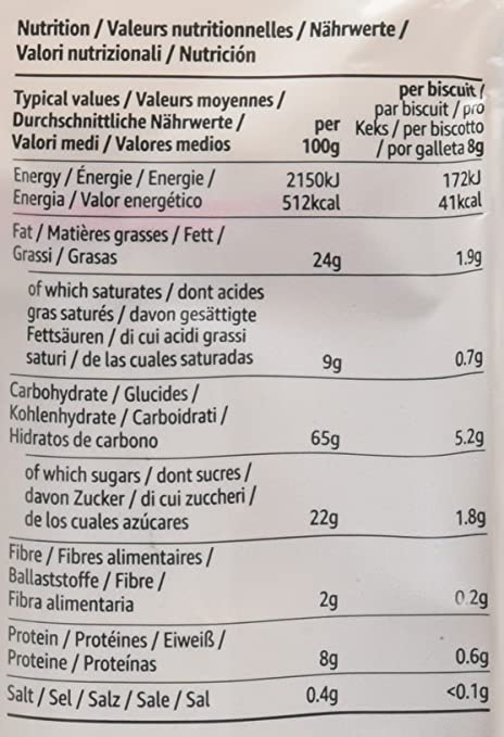 Marca Amazon - Solimo Galletas redondas- 440g x 3: Amazon.es: Alimentación y bebidas