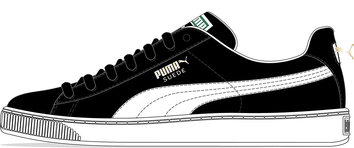 892009d18553 Amazon.com  PUMA Select Men s Suede Classic Plus Sneakers  Puma  Shoes