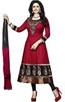 Shiroya Brothers Women's Cotton Printed Unstitched Regular Wear Salwar Suit Dress Material(SB_Dresses_107)