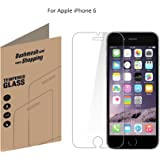 Dashmesh Shopping Premium Tempered Glass Protector for Apple Iphone 6 6s (4.7 inch ONLY)