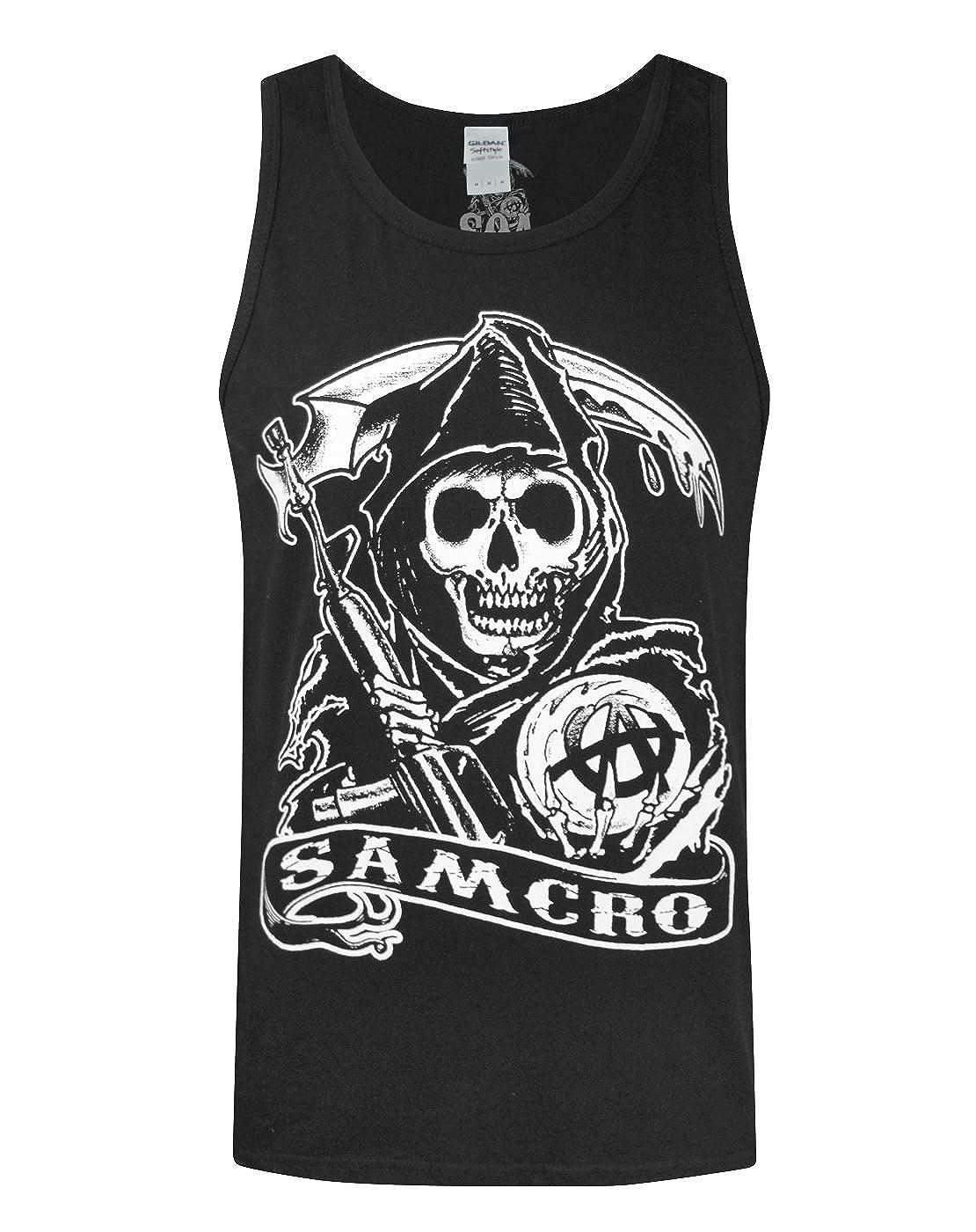 Official Sons Of Anarchy Samcro Men's Vest