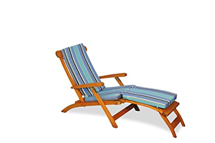 Teak Steamer Chair With Cushion (Dolce Oasis)