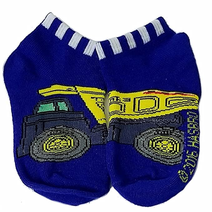 Amazon.com: Kids Toddler Socks 6 Pairs Assorted Tonka Truck Designs Size 4 - 6: Clothing