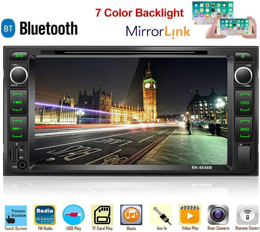 Autoradio Für Toyota Corolla 17 8 Cm Touchscreen Dvd Elektronik