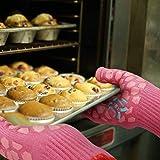JH Heat Resistant Oven Glove: EN407 Certified 932