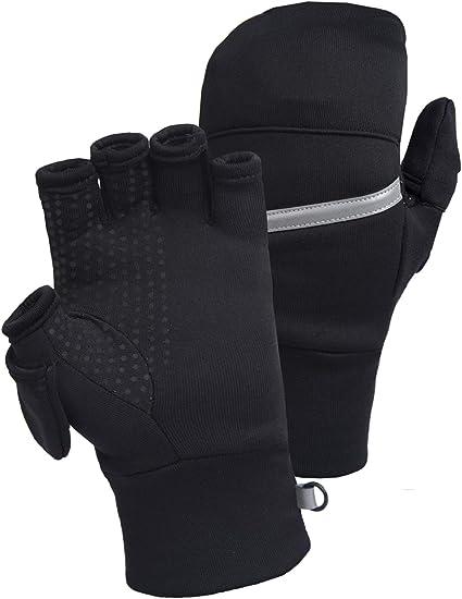 TrailHeads men's Power Stretch Convertible Mittens