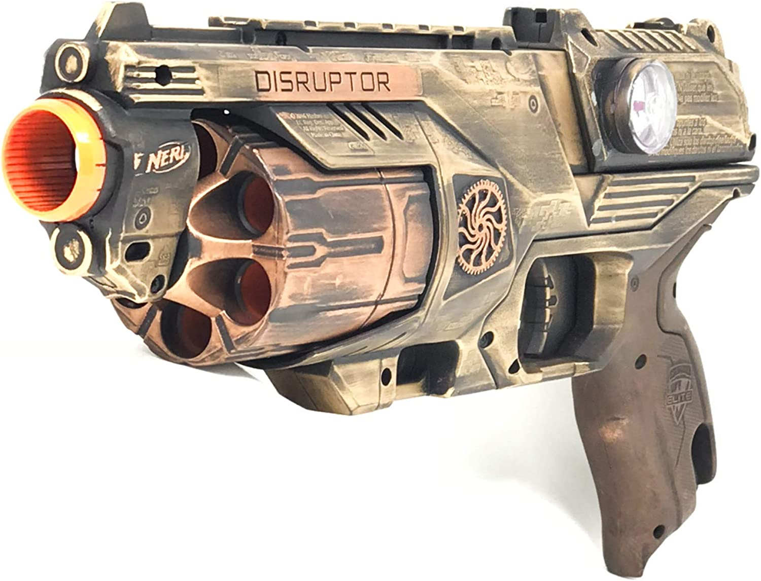 STEAMPUNK GUN FANCY DRESS ACCESSORY FOR ADULT PARTY