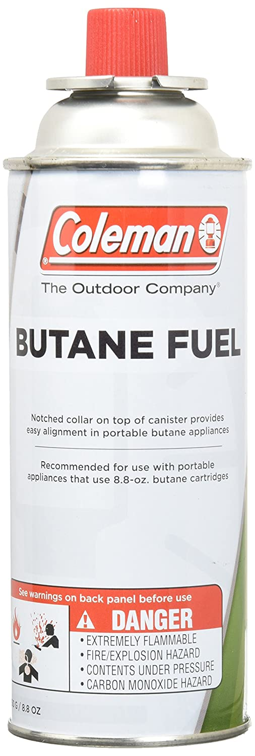 COLEMAN CO-FUEL 9701-700 Butane Canister, 8 8 oz