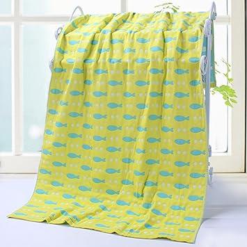 [toalla de baño]/Pecho adulto gasa tres las capas de toallas de algodón