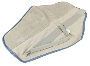 """Chattanooga 00-1104 Hydrocollator Moist Heat Pack Cover, All, Terry Microfiber, Neck, 9"""" x 24"""""""