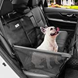 MATCC Asiento del Coche de Seguridad para Mascotas Protector del Coche para Perros Impermeable Extraíble Plegable…