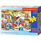 Puzzle 70 pièces - Blanche Neige et les Sept Nains