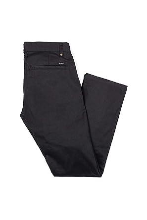 "1d594ab0 Brixton ""Reserve Chino Pants (Black) Men's Standard Fit Straight ..."