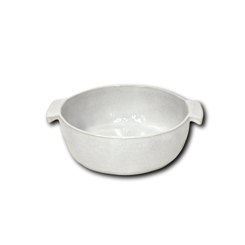 White 9 Diameter x 3 Deep 9 Diameter x 3 Deep Carmel Ceramica 05-1503 Round Baker