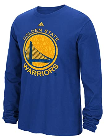 Shop Adidas Mens Golden State Warriors Cut Off T Shirt