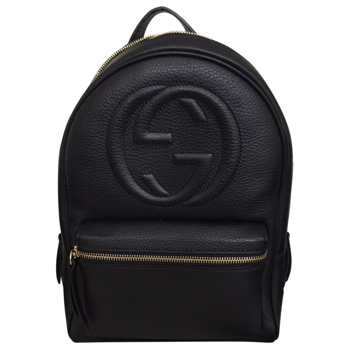 aec5f272cc78 Amazon.com: Gucci Soho Black Backpack Calf Leather Backpack Ladies Bag  Italy New : Shoes