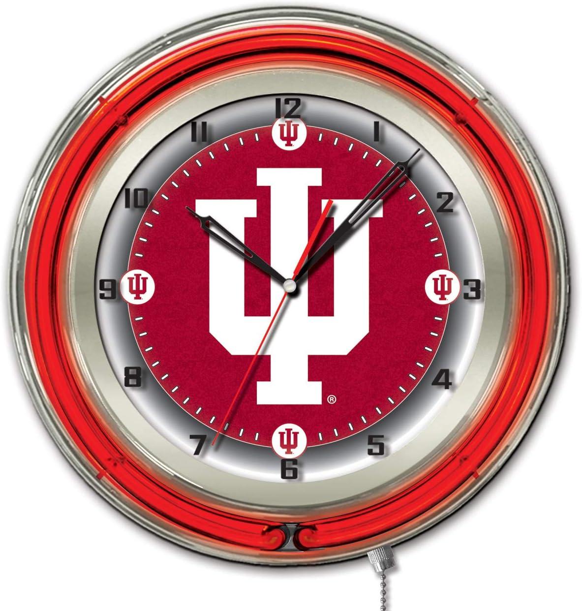 Wincraft NCAA Chrome Clock