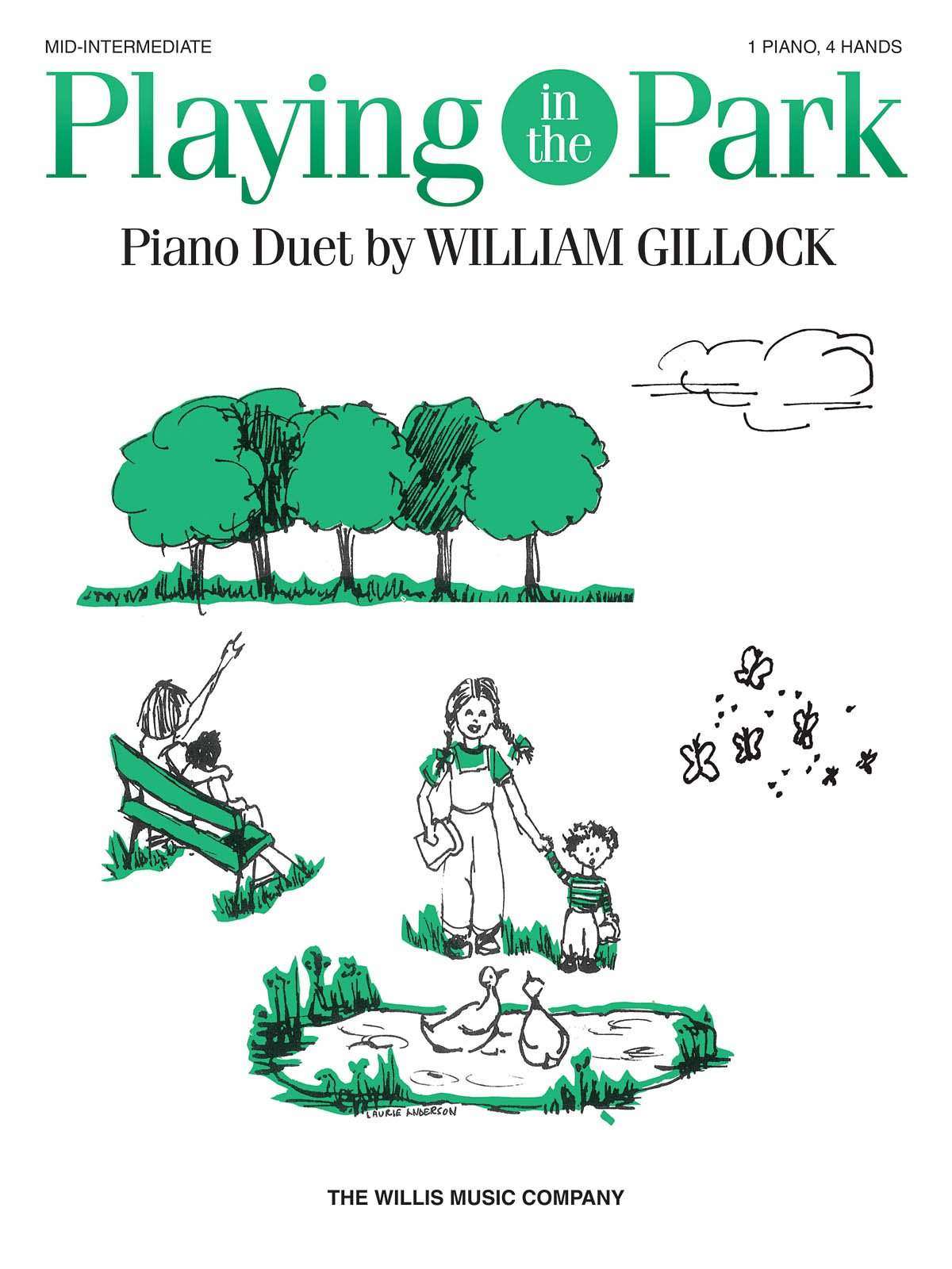 Download Playing in the Park William Gillock 1 Piano, 4 Hands Early to Mid-Intermediate Level pdf epub