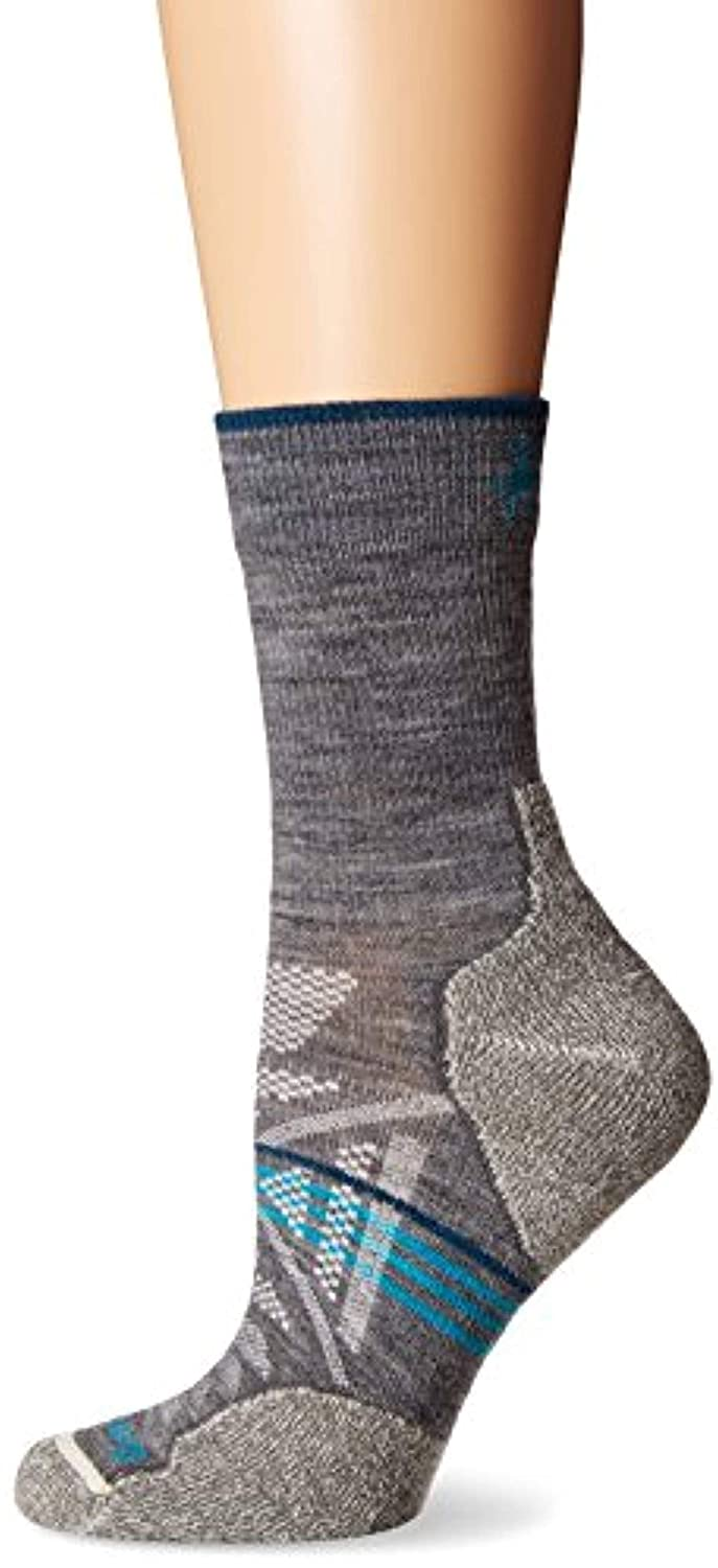bb926e1a4 Amazon.com: SmartWool Women's PhD Outdoor Light Mid Crew Socks Medium Gray  L 3-Pack: Shoes