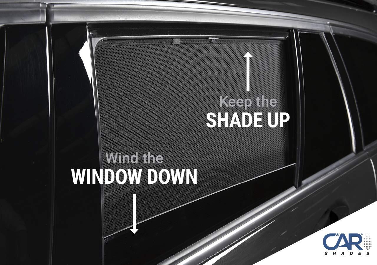 Rear Door Set of 2 Kia Sportage 5 Door 2016-19 Tailored Fit UV Car Shades
