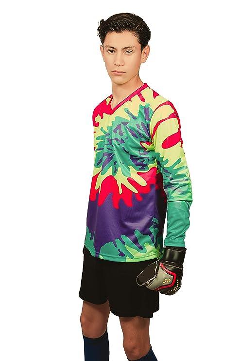 5c47be32b Geko Sports Twister II Tie Dye Goalkeeper Jersey (Adult 2-Extra-Large)