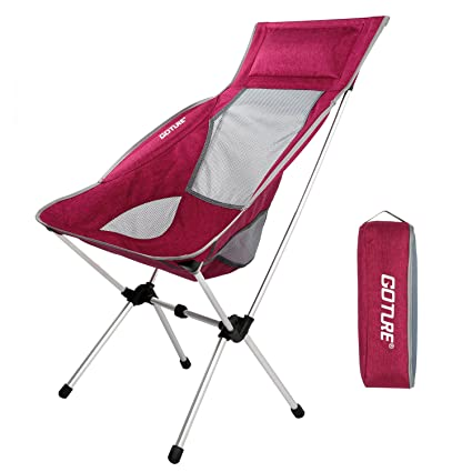 Goture Ultralight Portable Folding Backpacking Camping Chairs 1000D Oxford  Fabric Chair With Carry Bag For Kayaking