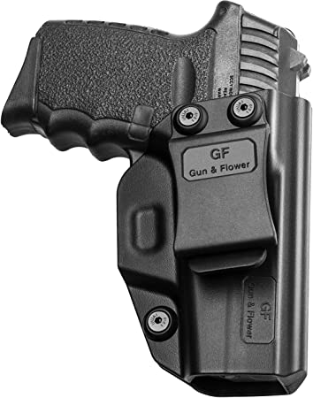 SCCY 9mm CPX1 CPX2 Holster, Inside Waistband Concealed Carry Belt Clip for Pistol, Gun Holster for Men/Women |Adj. Cant&Retention