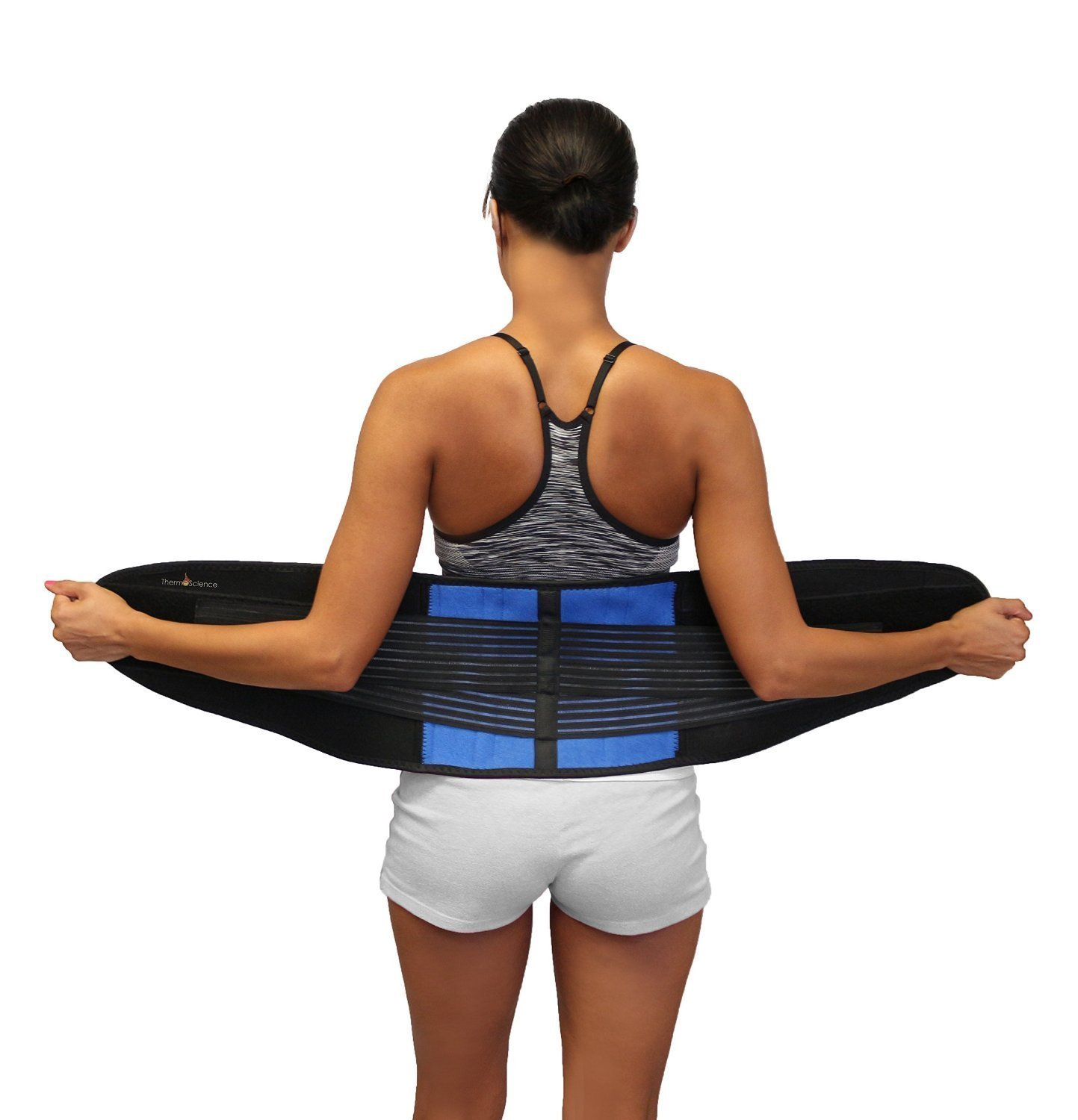 Amazon.com: Back Support Belt - Lower Pain Brace Relief for Men and Women Fits Up to 38 Inches Herniated Disc Upper or