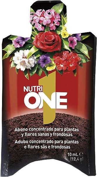 Nutrione - Abono líquido concentrado para plantas, 10 ml: Amazon.es: Jardín