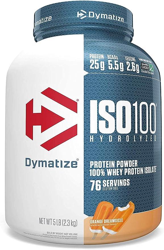 Dymatize Nutrition Dymatize, Polvo de Proteína de Aislado de ...