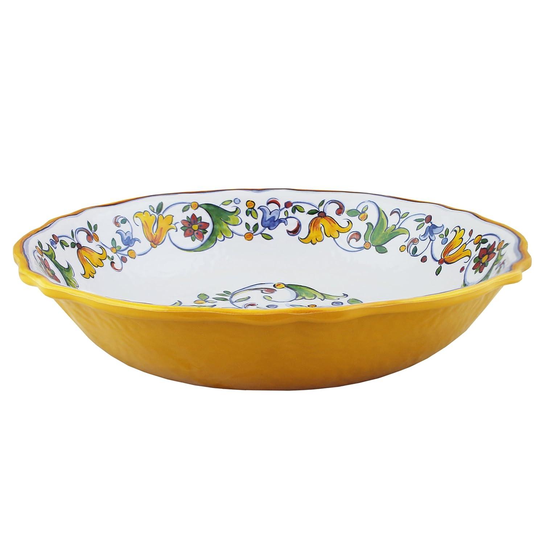 Le Cadeaux Melamine Capri Salad Bowl LeCadeaux