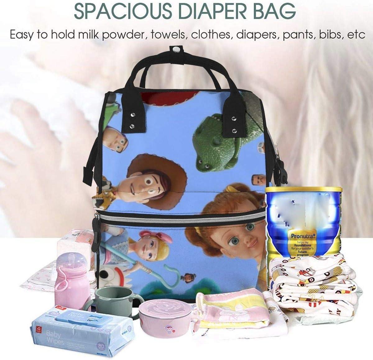 NHJYU Bolsa de pa/ñales Mochila T-oy St-ory Family Multifunction Waterproof Travel Mochila Maternity Baby Nappy Changing Bags