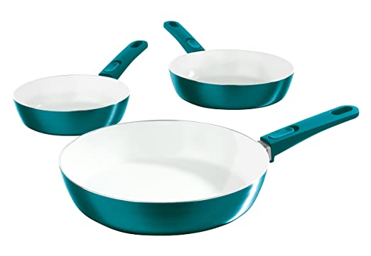 Amazon.com: BRATmaxx 05602 Ceramic 3 Piece Pan Set with Removable Handles | Frying Pan | Non Stick | Induction | Cookware by bratmaxx: Paintings