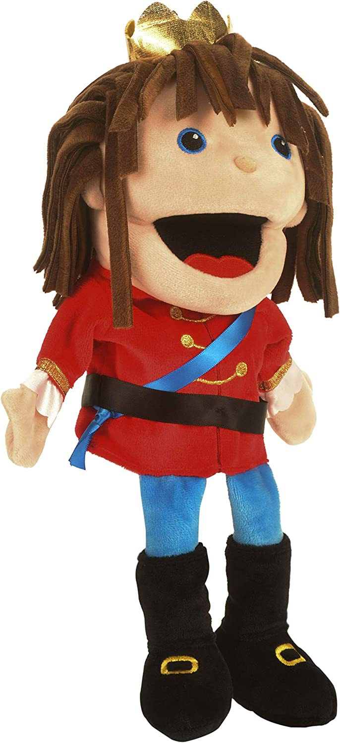Fiesta Crafts T-3025 Fiesta Moving Mouth Prince Hand Puppet