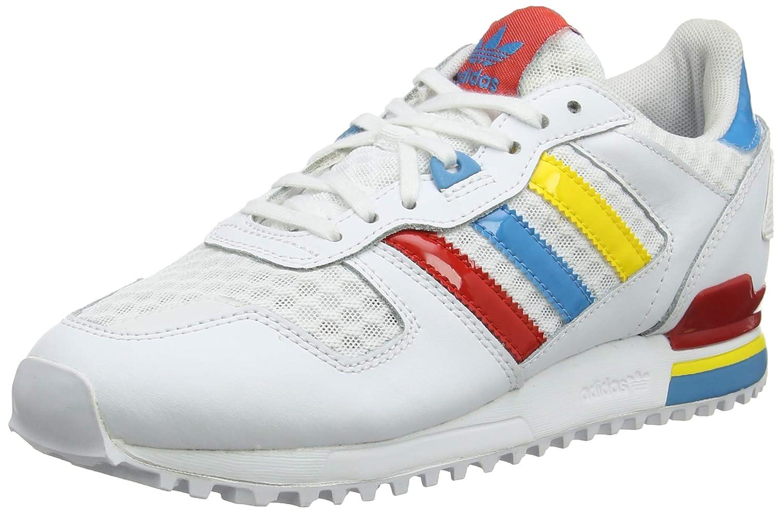 timeless design 9f066 ba0bb Adidas da Uomo ZX 700 BA9314 Sneaker, Uomo, B-BA9314,  White Red Blue Yellow, Taglia 3,5  Amazon.it  Sport e tempo libero