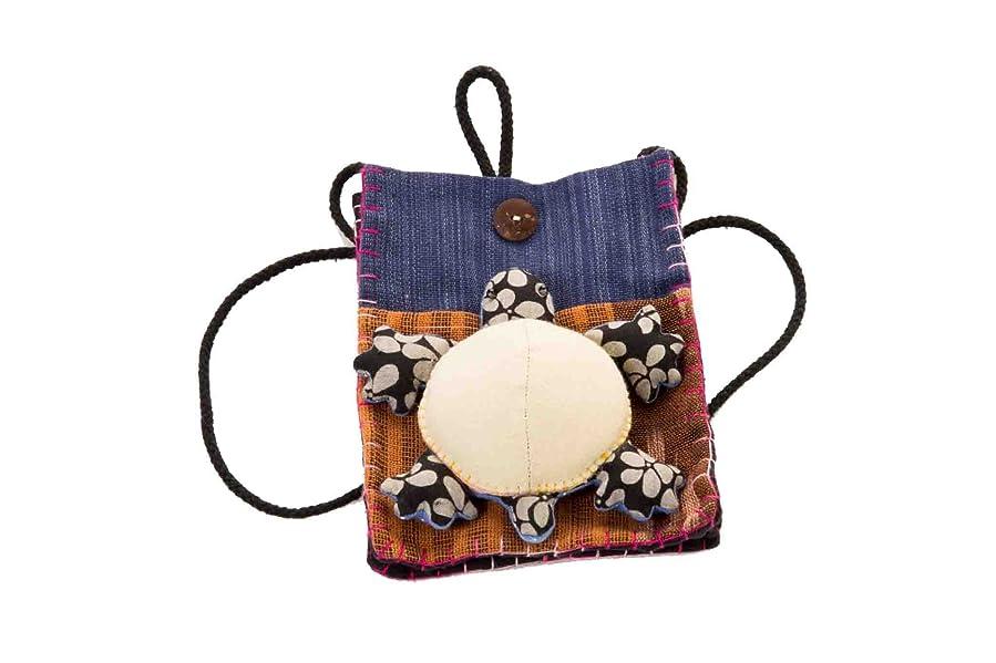 Amazon.com: Turtle wallet bag purse fabric handmade sewing pattern ...