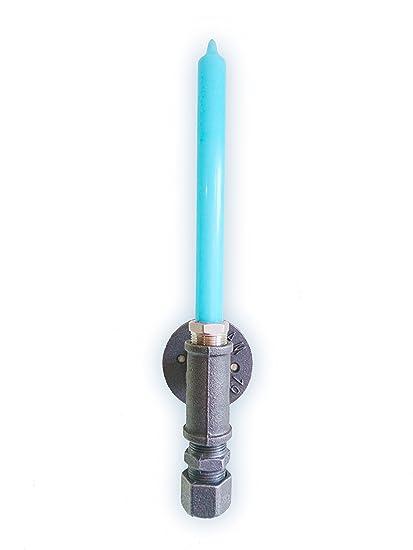 Star Wars Sabre Laser Bougie Applique Style Industriel éclairage