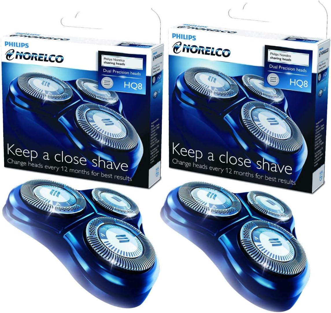 Philips Norelco-HQ8 Spectra - Recambio de cabezal triple, 2 ...