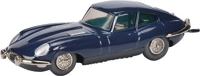 Schuco 450195500 Micro Racer Jaguar E Type Modellauto Die Cast Limitierte Auflage Dunkelblau Spielzeug