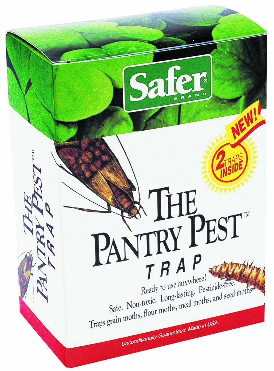 Safer Brand 05140 The Pantry Pest Trap, 4 Moth Traps