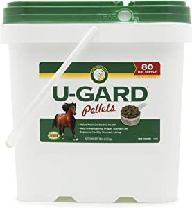 Corta-Flx U-Gard Pellets |All Natural Equine Digestive Supplement to Maintain Gastric Health | Helps Prevent Ulcer Formation | 10 LB