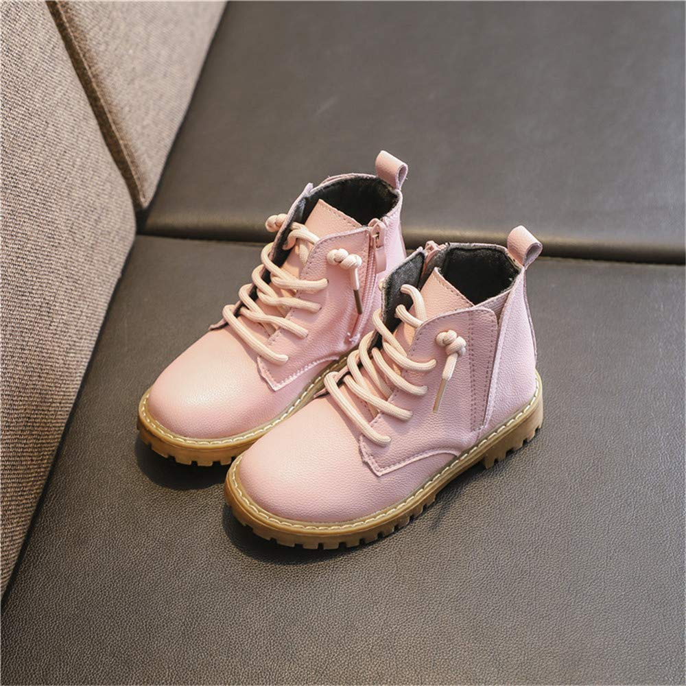 Quality.A Martin Boots Cute Kids Boots Snow Boots Boys and Girls Casual Boots