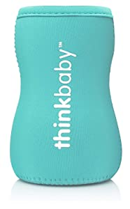 Thinkbaby Limestone Thermal Bottle Sleeve, Light Blue