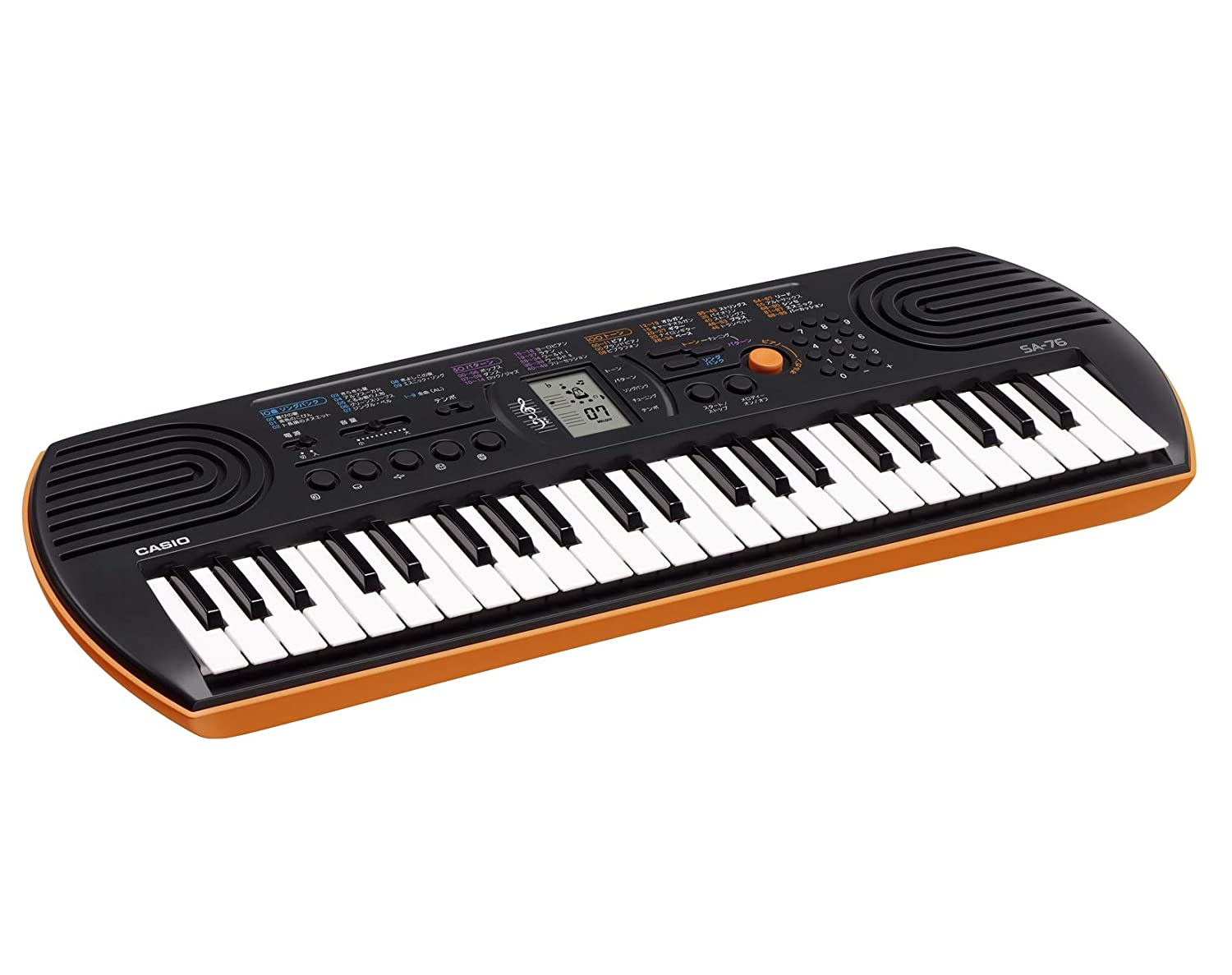 front facing Casio SA-76