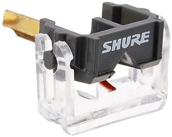 Shure N44G - Aguja de Recambio para cápsula de giradiscos ...