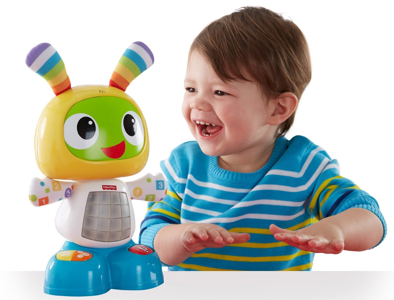 Verwonderend Fisher-Price CGV43 Dance and Move Beatbo, Baby Robot Learning Toy DN-36