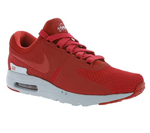 huge selection of 9ac8f 512d8 NIKE Air Max Zero Premium Sneaker Red 881982 600: Amazon.co ...