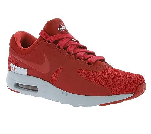 huge selection of 97146 9b88d NIKE Air Max Zero Premium Sneaker Red 881982 600: Amazon.co ...