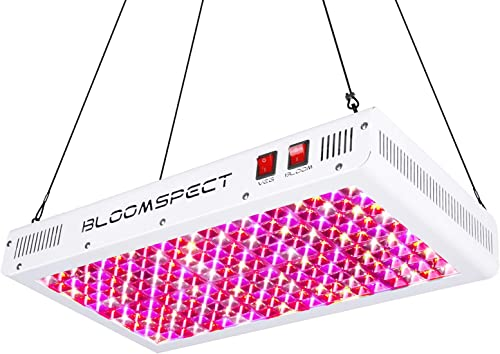 BLOOMSPECT Reflector Series 2000W LED Grow Light Full Spectrum for Indoor Plants Veg and Flower with Veg Bloom Switch 200pcs 10W LEDs