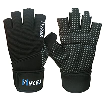 Buy Gym Gloves with 15   Wrist Support Wrap for Workout ae0bc48b1